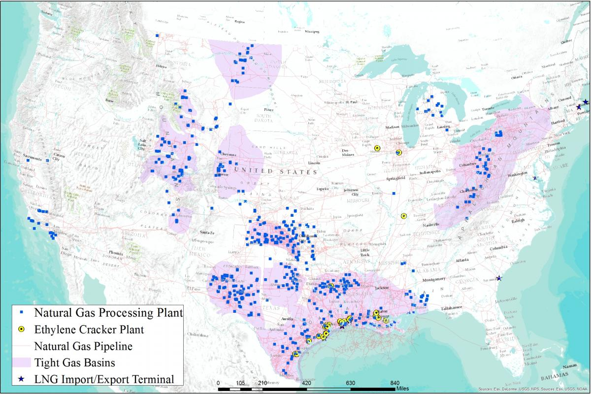 natural gas network us